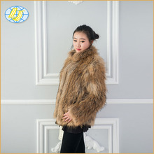 Chinese Wholesale China fur luxury production fashion new design brand name fur coat 2018