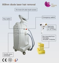 Painless braun hair removal machine with 808 diode laser