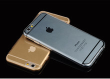 High transparent cheap cell phone case for iphone 6 cover