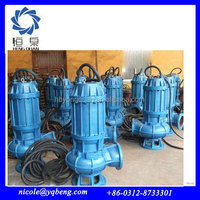 QW portable wear-resistance electric non-clog sewage submersible pump