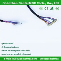 lcd cable assembly factory lvds dvi av cable