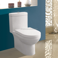 2015cheap price with high quality bathroom ceramic sanitary ware one piece p-trap washdown toilet