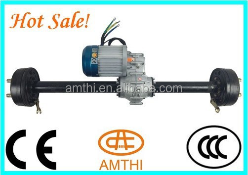 electric vehicle 48v 800w brushless dc motor with gear box and axle, high torque electric vehicle brushless dc motor , amthi
