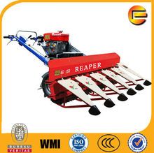 120cm Multifunctional mini cutting machine reaper type Paddy Rice Harvester