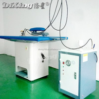 Laundry ironer table/ steam iron with boiler