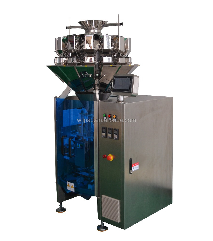 Electric and Pneumatic Driven Type Automatic Form Fill Seal Plastic Bag Packing Machine