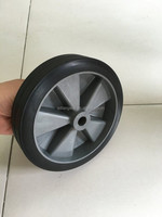 plastic toy wheels axles plastic 6 inch solid rubber wheel