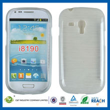 C&T Hot sale brushed soft case for samsungs galaxi s3 mini i8190
