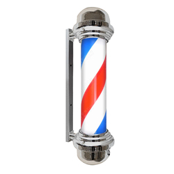 Best Seller Barber Shops LED Lamps Outdoor Barber Shop Sign Pole