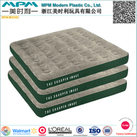 inflatable flocked air bed top flocked air mattress surface flocked inflatable bed