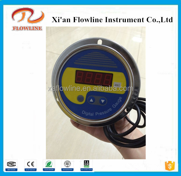 2017 New machine grade air differential pressure gauge With ISO9001 certificates