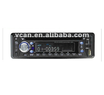 Car CD player with MP3 MP4 RDS USB SD slot player CAD-5053 bt optional automobile