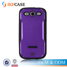 Heavy duty slim kickstand combo TPU PC hybrid case for Samsung Galaxy S3 I9300