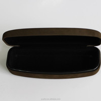 Iron hard spectacle case cheap glasses case with hinge