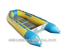 Sunshine top quality aluminum floor leisure pontoon boat