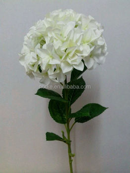 artificial white hydrangea flower