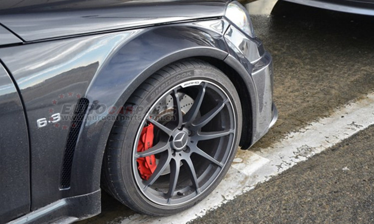 C63 black series body kits fit for W204 C63 2011year to wide body kits C63 coupe