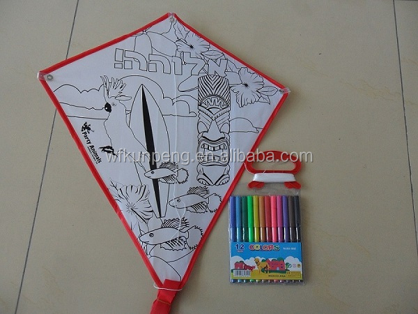 children diy kite