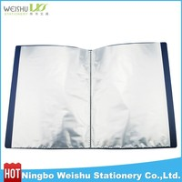 PP Display Book With inner Pockets 10-100/sheet protector display books/office stationary clear display book