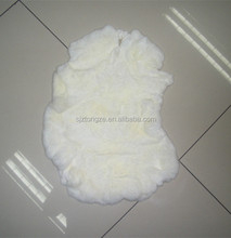 Tanned rex rabbit fur skin second quality