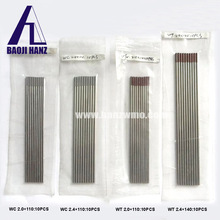 WC20 Tungsten Electrode TIG Welding Electrode