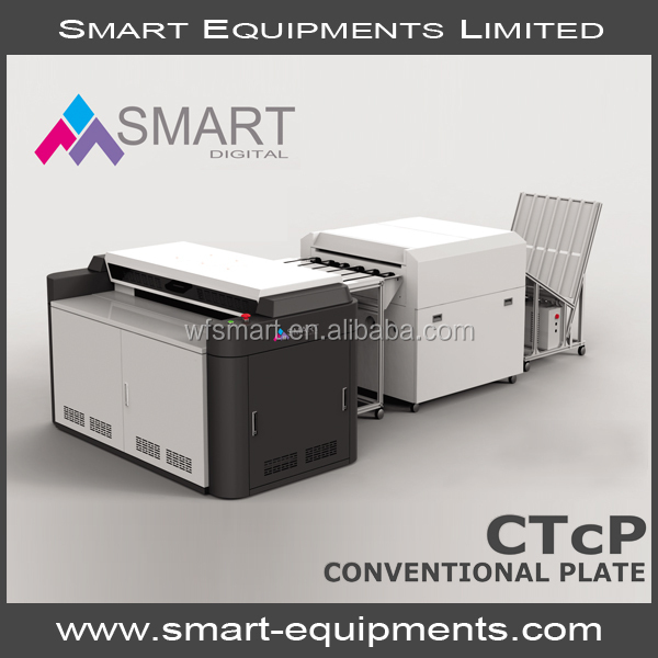 SMART digital computer to plate CTcP machines