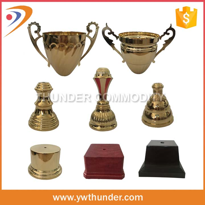 Gold 2015 metal trophy cup trophy components
