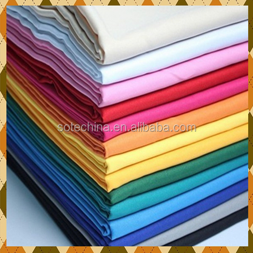 "T/C 65/35 45*45 110*76 57/58"" plain fabric - 2017 HOT SALE LINING AND SHIRT FABRIC"