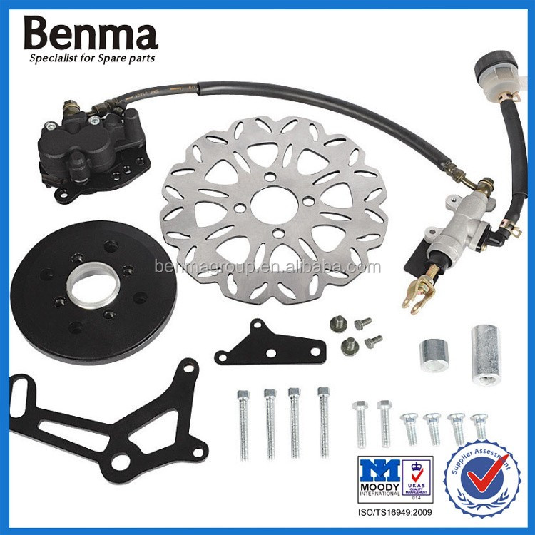 Motorcycle Hydraulic Disc Brake Assembly With Brake Disc & Brake Pump