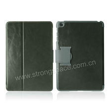 Lichi Pattern Magnetic Flip Belt Clip Case for iPad Mini