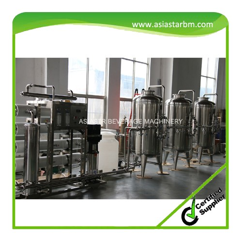 High standard ro pure water sterilizer filter plant with uv