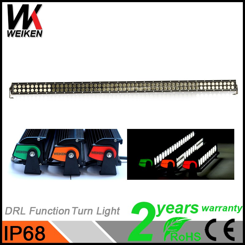WEIKEN car accessories super slim warranty 2 years 324w led off road light bar