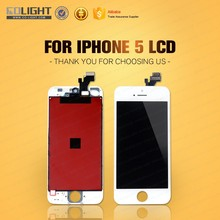 hot sale AAA quality for iphone 5 lcd OEM, for iphone 5 lcd digitizer, digitizer parts assembly for iphone 5 accept paypal