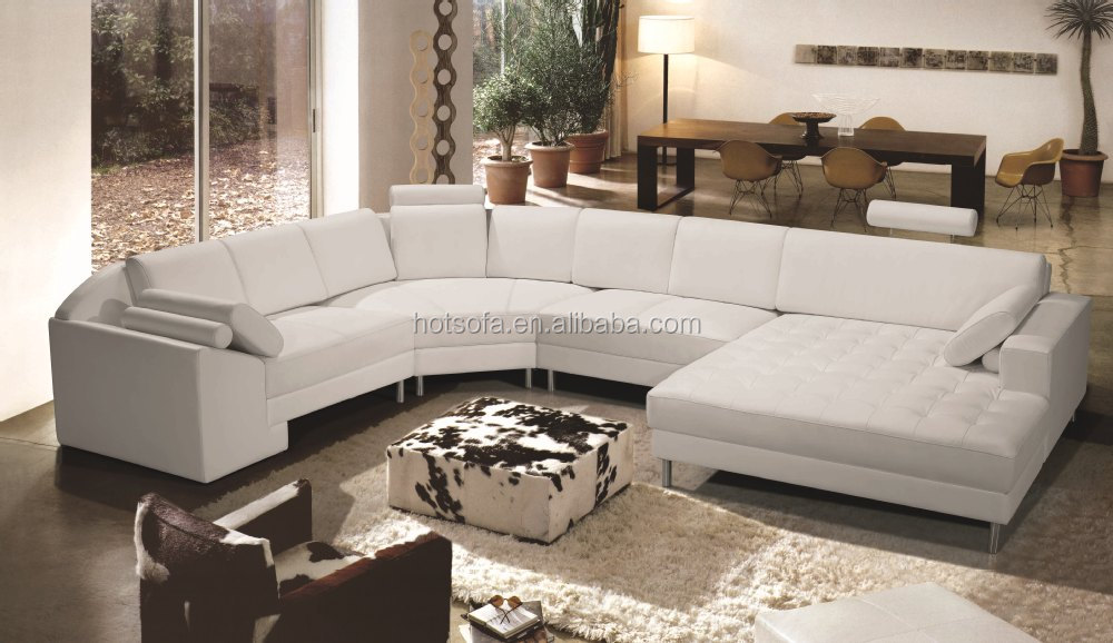C236 French Furniture Latest Corner Sofa Design Round Corner Sofa,module  leather sofa, View module leather sofa, H&T Product Details from Foshan H&T  ...