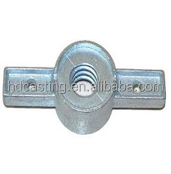 scaffolding accessaries adjustable casted jack base nut 12