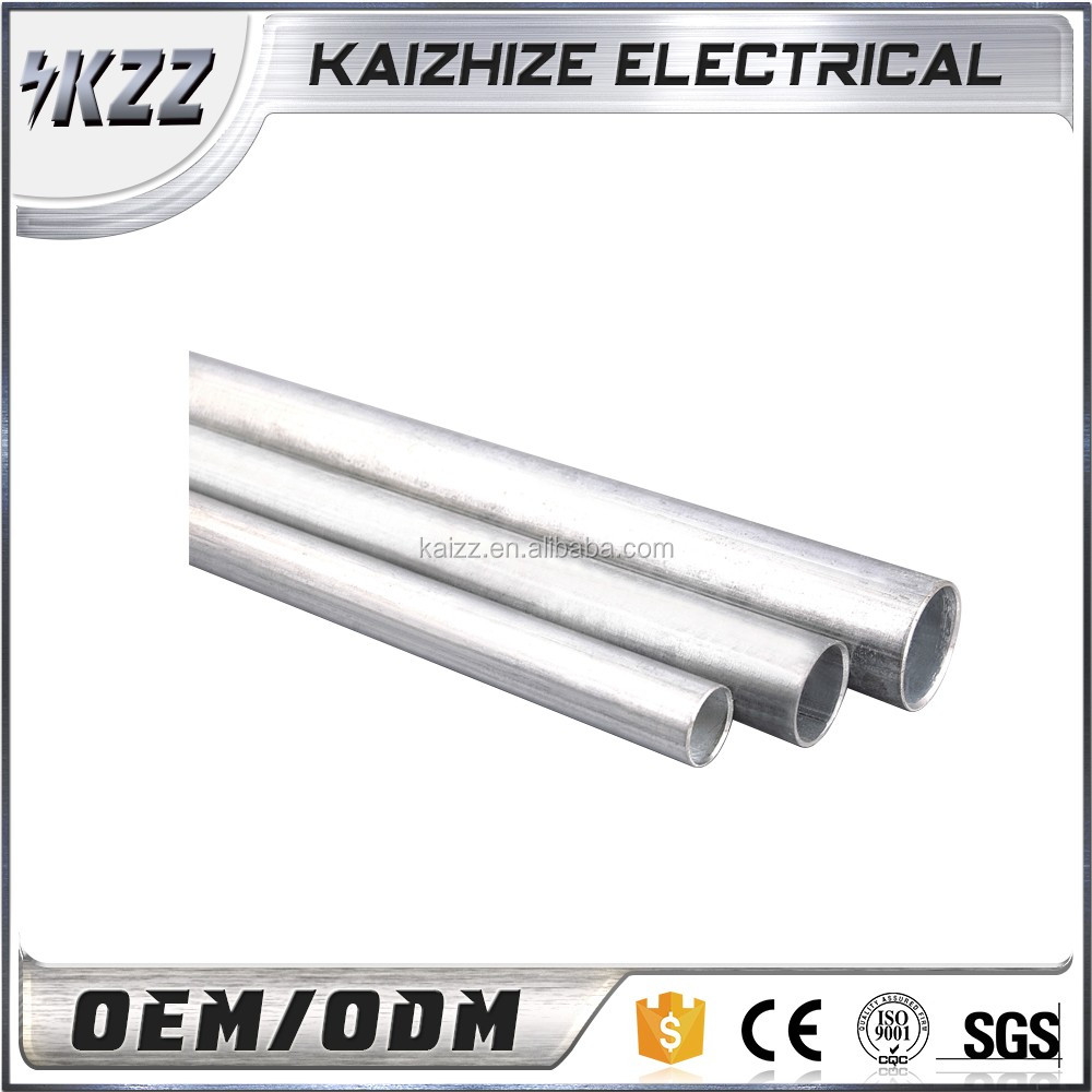 EMT Steel Electrical Conduit pipe tube