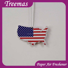Cheap Custom Football Team Logo Design make hanging paper car air freshener