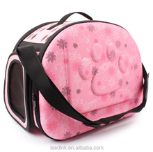 Pet travel EVA bag, portable,breathable and foldable hand bag, small size pet travel house