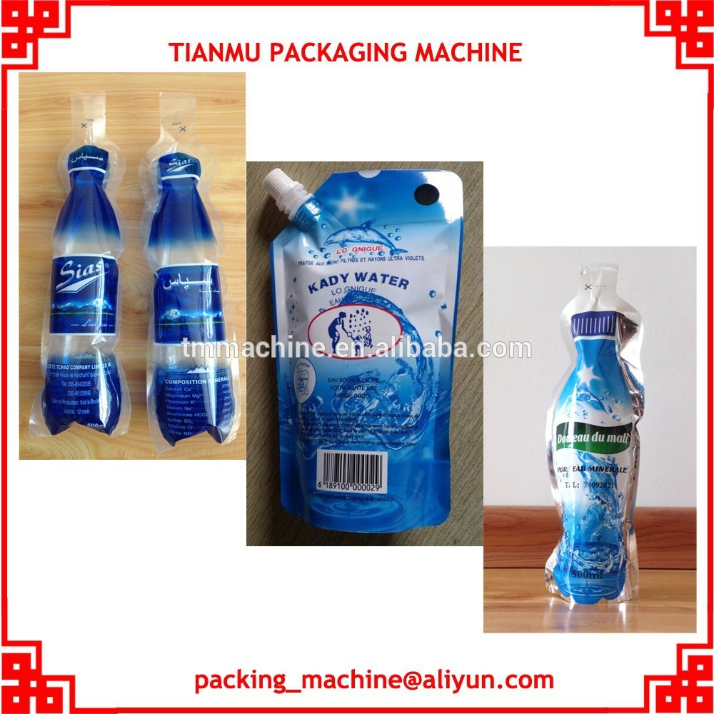 water sachet bag filling and sealing pacing machine