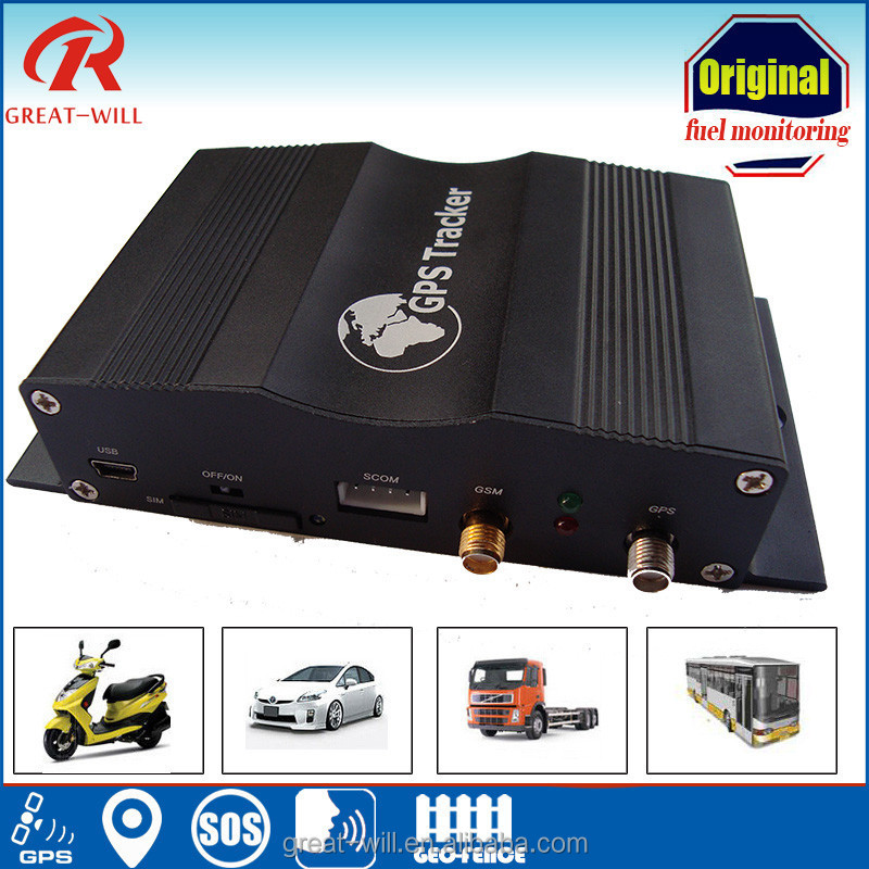 high accurate 3g sd card fuel level monitoring engine stop car gps tracker
