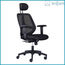 890A Ergo Value Mesh Medium Back industrial Task Chair ergonomic swivel office Chair with headrest