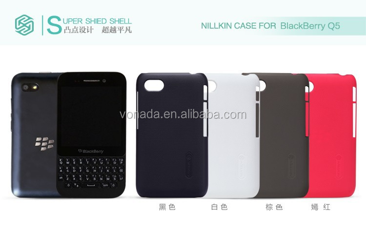 Nillkin Frosted Shield Matte Plastic Hard Cover Case For BlackBerry Q5