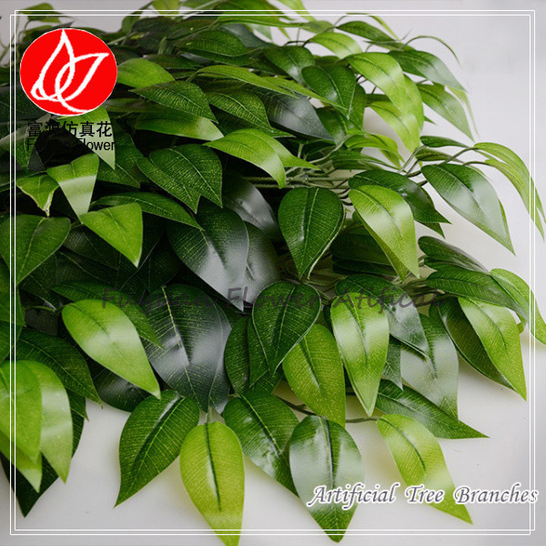300050800 cheap wholesale china artificial silk flowers wedding artificial tree branches ficus leaves 08 mightylinksfo