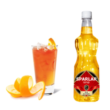 2017 Sparlar Orange Flavored Syrup Taiwan Bubble Tea Supplier