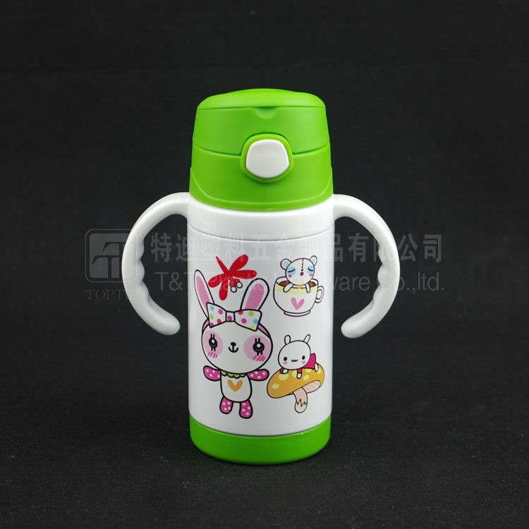 school water bottle for kids/baby bottle with straw/stainless steel bottles