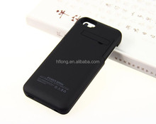 2200mAh External power bank Charger pack backup battery case for iPhone 5 5S