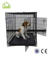 high quality wire mesh Cheap folding collapsible dog crate