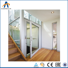 Automatic 0.5M/S Home Lift Elevators 400KG Small Elevators for Homes Automotive Indoor Villa Lift