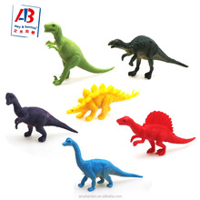 Plastic PVC Small dinosaur assorted animal toys for kids collection