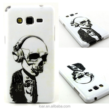 Skull Man Flexible TPU Case For Samsung Galaxy Grand Prime G530 Mobile Cover